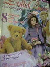 Australian Dolls Bears & Collectibles Magazine #57 -8 Projects (3 Are Bears)