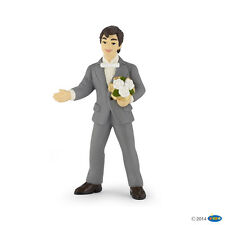 Papo 39012 Groom with Bouquet 10 cm Say and Fairy Tale