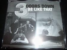 3 Three Doors Down Be Like That Australian Enhanced CD Single