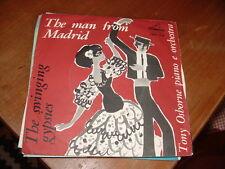 """TONY OSBORNE """" THE MAN FROM MADRID-THE SWINGING GYPSIES """" ITALY'62"""