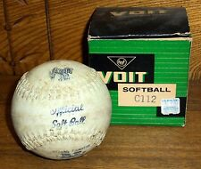 Vintage AMF Voit Softball C112 In Original Box