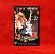 Zakk Wylde GHS & EMG Promo Posters<<>>OZZY<<>>
