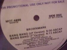"""Brownmark Bang Bang 3 mixes 12"""" Prince"""