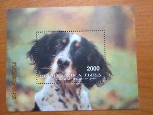 Briefmarken Block  postfrisch Motivausgabe Hunde