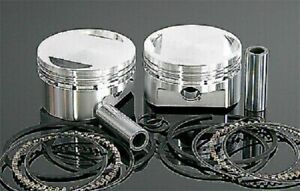 04+ Harley Sportster 1200 Wiseco  K Piston Kit .010 10.5:1 62463