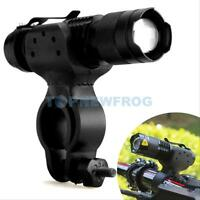 Cree Q5 LED 1200lm Bike Bicycle Cycling Head Front Light Flashlight w/ 360 Mount
