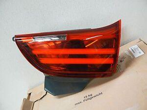 NEW! 14-16 BMW 535i 550i GT Taillight RH Right Passenger Side Inner Trunk OEM
