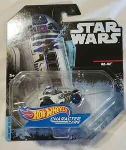Star Wars Die Cast Character Cars R2-D2 Collectible Hot Wheels