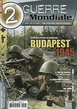 2ème GUERRE MONDIALE,OPERATION KONRAD, BUDAPEST 1945, N° 26