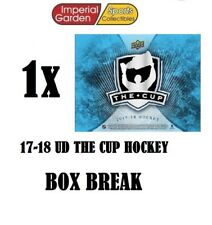 SINGLE * 17-18 * UD THE CUP HOCKEY Box Break #1820- Vancouver Canucks