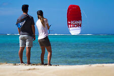 Kiteboarding, Kitesurfing, Kitesurf, Ozone Ignition Trainer Kite 3.0mt, Red.