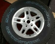 "Jeep WJ Grand Cherokee wheel rim tire OEM 16""  245/70R16 Goodyear Wrangler SR-A"