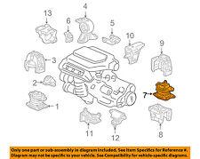 HONDA OEM 05-07 Odyssey-Engine Motor Mount/Torque Strut 50810SHJ305