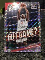 2019-20 Mosaic Got Game? Kawhi Leonard Silver Prizm Refractor LA Clippers SP!!!