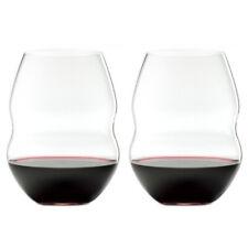 NEW Riedel Swirl Red Wine Glass Set of 2 580ml