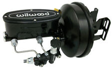 1967-72 CHEVY & GMC C10 TRUCK POWER BRAKE BOOSTER - WILWOOD BLACK OUT SERIES