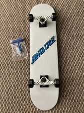 "Complete Skateboard 7.7"" 31.85"" Skate Park Ready OG Santa Cruz Decal T Tool New"