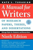 A Manual for Writers of Research Papers Theses and Dissertations 9th Edition