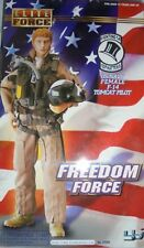 BBI ELITE FORCE 1:6 SCALE  FREEDOM FORCE US NAVY F-14 TOMCAT FEMALE PILOT