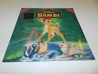 Bambi 55th Anniversary Masterpiece Disney THX Laser Disc Laserdisc NEW Sealed