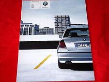 BMW 3er e46 Compact 316ti 318ti 325ti 318td 320td prospectus de 2003