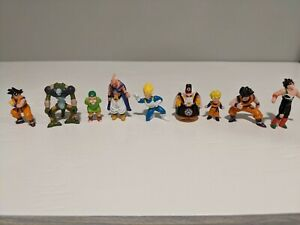 DRAGONBALL Z Mini Figures Series 8 by Irwin Toys Incomplete