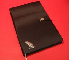 Labrador Retriever A5 Black Note Book Journal Dog Vet Christmas Useful Gift