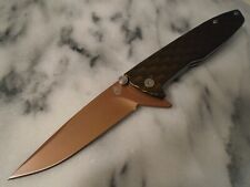 Gerber One Flip Tactical Flipper Pocket Knife Green Bronze 30-001353 5Cr13MoV