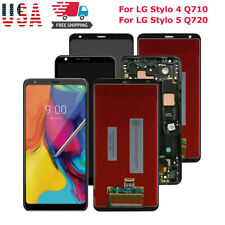 For LG Stylo 4 Q710 Stylo 5 Q720 LCD Touch Screen Digitizer Frame Replacment US