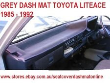 DASH MAT, DASHMAT, DASHBOARD COVER FIT TOYOTA LITEACE  1985-1989,  GREY