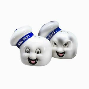 Ghostbusters Stay Puft Salt & Pepper Shaker Set