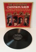 THE 4 SEASONS CHRISTMAS ALBUM VINYL LP 1966 PHILLIPS Pro Cleaned and Play Tested