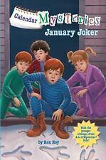 Calendar Mysteries #1: January Joker (A Stepping Stone Book(Tm)