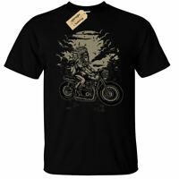 Indian Chief Rider T-Shirt biker motorcycle Mens top tee clothing