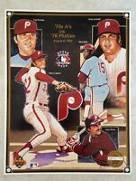 PHILADELPHIA PHILLIES Upper Deck Heroes of Baseball Collector Series Sheet SGA