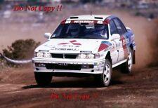 Ari Vatanen Mitsubishi Galant VR-4 Acropolis Rally 1989 Photograph 1