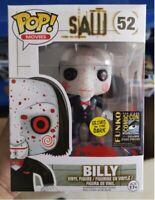 Funko pop saw billy comic con movies tv figure figura coleccion