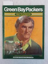 """SIGNED 8x GREEN BAY PACKERS 1984 YEARBOOK """"The Pack Will Be Back"""""""