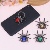 Universal luxury metal spider finger ring holder 360 rotate mobile phone holderD