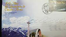 O) 2003 CHILE, CLAUDIO ARRUA- PIANIST - MUSICAL NOTES. FDC XF