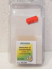 Heimchen- & Schabenfalle - 3er Pack - Insektenfalle Klebefalle Heimchenfalle