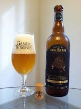 Game of Thrones Ommegang Rare Promo Glass, For Iron Throne Blonde Ale,Glass Only
