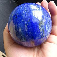 Natural Blue Lapis Lazuli Crystal Ball Healing Sphere Gemstone 40mm + STAND
