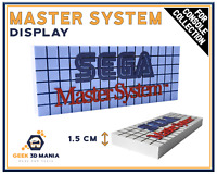 Display SEGA MASTER SYSTEM Shelf Deco for Retro Video Games Collection Game Room