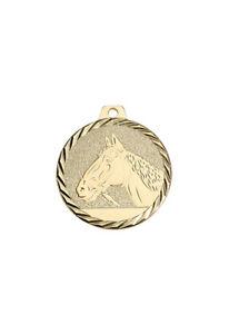 Pferde Medaille Turnierschleifen Rosetten Pferdepokal Pokal Medaille