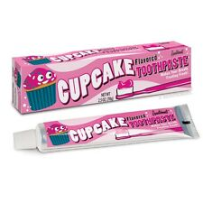 Cupcake Lovers Sweet Frosting Flavored Toothpaste 2.5 oz Dessert Novelty Gift