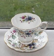 Royal Albert English Fine Bone China Cup & Saucer Random Harvest Sussex