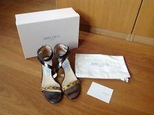 Genuine JIMMY CHOO 'MALOY' sandals UK7/EU40 WORN ONCE!!!