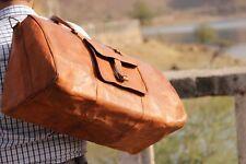 Bag Leather Retro Duffle Luggage Lightweight Vintage Men Weekend Genuine Travel