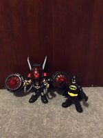 IMAGINEXT FIGURES BATMAN VILLAINS DC HEROES Batman And Bane With Flying Suit